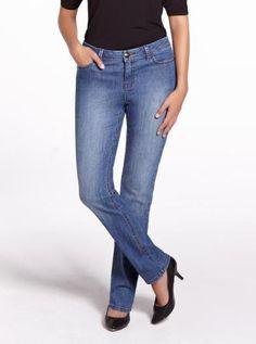 #reitmansjeans Authentic Slim Leg Jeans | Women | Shop Online at Reitmans