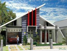Desain Rumah Minimalis 1 Lantai Sederhana 12