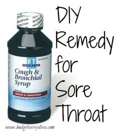 Home Remedy for Sore Throat...good time of the year to find and try this.