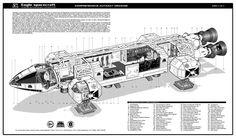 Eagle_Spacecraft_3D_Space_1999