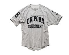uniform experiment | PRODUCT | NUMBERING FOOTBALL TEE