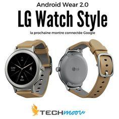 On en sait plus sur les deux prochaines montres connectées Google. Découvrez les LG Watch Style et LG Watch Sport.