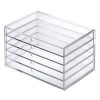 muji acryllic 5 drawer case (i want 2)