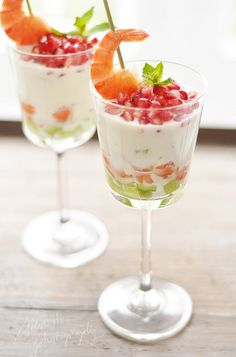 verrine de tzaziki... appetizer presentation at party