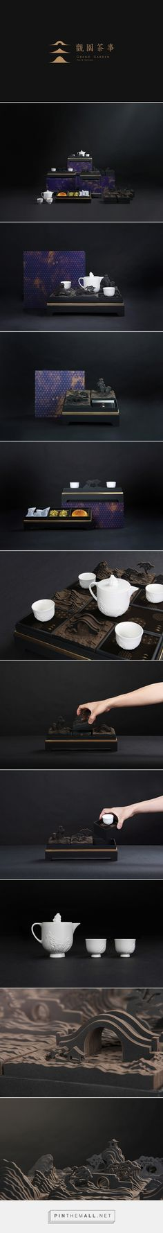 Grand Garden / 觀園茶事 on Behance curated by Packaging Diva PD. Lovely gift idea and matching packaging created via https://www.behance.net/gallery/16247227/Grand-Garden-