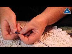 Как связать две нити без узла при вязании - YouTube | Технология вязания…