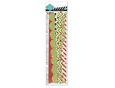 Heidi Swapp - Believe Collection - Christmas - Banner Delights - Glitter Borders at Scrapbook.com