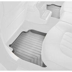 WeatherTech Custom Fit Rear FloorLiner for Dodge Dakota Quad - grey