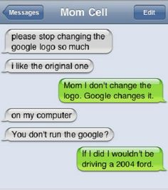 I run the google