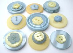 15 buttons  set 1 Spring Morning Mix buttons in by JamboChameleon