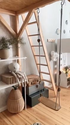 Love this Scandinavian-style kids room by @tthese_beautiful_thingss. What do you think of the design? Click the image to try our free home design app. (Keywords: kids room decor, kids room ideas, kids room designs, dream rooms, house design, home decor ideas, kids room rugs, kids room furniture, positive vibes, positive thoughts, boho kids room, bunk beds, childrens room, baby room ideas) Kids Bedroom Dream, Bed For Girls Room, Dream Kids, Dream Rooms, Bedroom Design Inspiration, Room Inspiration, Positive Thoughts, Positive Vibes, House Beds For Kids