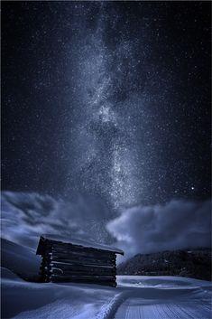 Alps by Dainius Seven on 500px.... #austria #long exposure #night scape