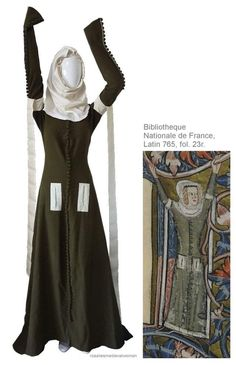cotehardie- medieval unisex garment tailored to fit the torso and arms, usually … – Style is art Medieval Costume, Medieval Dress, Medieval Fashion, Medieval Clothing, Historical Costume, Historical Clothing, 14th Century Clothing, Landsknecht, European Fashion