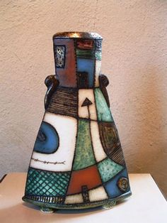 Charmaine Haines is prominently established in the South African ceramics scene. Her work forms part of numerous art collections and has been selected to represent South Africa on International exhibitions.