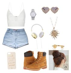 """Casual but never basic "" by iamoffialcindyg ❤ liked on Polyvore"