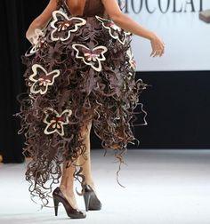 from salon du chocolat 2013 fashion show