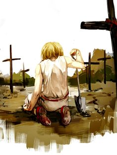 Kurapika…         ~Hunter X Hunter