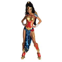 Adult Costumes   Anime - Wonder Woman Adult Costume [Sexy Costumes, Sexy Couple Costu ...