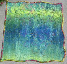 a wavy-edge quilt?  Scandelous!  I love it.