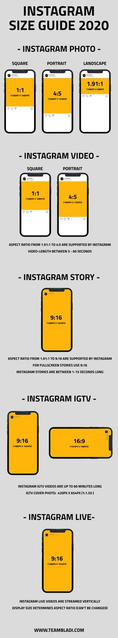 Instagram Image Size 2020 - Whats the best Instagram Image Size 2020? #Instagram