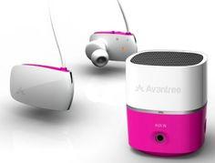 Avantree Pluto Rechargeable Mini Speaker for iPod, MP3/MP4, Mobile Phone