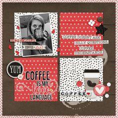 Coffee Is My Love Language - Scrapbook.com