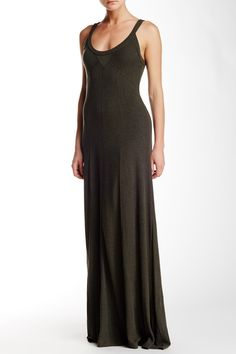 Paneled Maxi Dress by Heather by Bordeaux on @nordstrom_rack