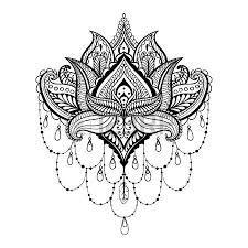 Bildergebnis für henna muster vorlagen