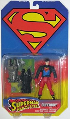 Superman Man of Steel Superboy @ niftywarehouse.com #NiftyWarehouse #Superman #DC #Comics #ComicBooks