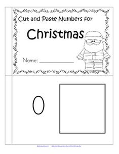 This is a simply designed booklet featuring numbers and sets matching, 0-10. Cut out the sets (color if desired) and paste next to the appropriate numerals.