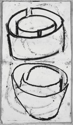 double torqued ellipses . richard serra . guggenheim museum bilbao . 2005