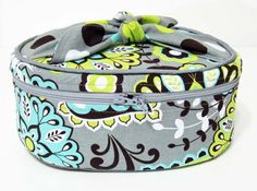 Makeup Bag Cosmetic Bag Travel Bag by ColorMeDesigns on Etsy, $28.00