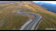 Imagini - Cum se vede Transalpina din dronă. Magnific! VIDEO