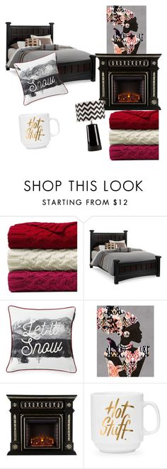 """""""Untitled #109"""" by denise-ealy on Polyvore featuring interior, interiors, interior design, home, home decor, interior decorating, Lands' End, Lexington and Surya"""