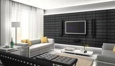 24 Awesome leather walls design ideas for your room, office and for your bathroom