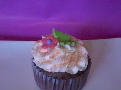 cupcake chocolate piña!!