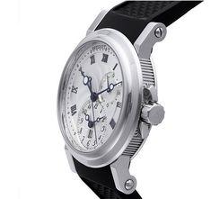 Breguet Marine Automatic Dual Time 42mm Mens Watch 5857-ST-125ZU #breguet #breguetmarine #breguetautomatic #breguetdualtime #breguetmenswatch #5857st125zu #luxurywatches #majordor