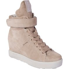 713ecf2f867b8 Prada Velcro Band High Top Sneaker ( 640) ❤ liked on Polyvore High Tops