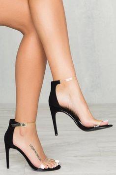 Valletta Single Sole Heel (Black)