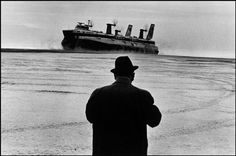 "FRANCE. 1973. Nord-Pas-de-Calais. Calais. © Josef Koudelka / Magnum Photos ""I don't pretend to be an intellectual or a philosopher. I just look.""  Josef Koudelka"