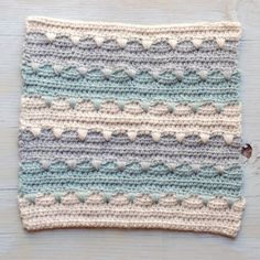 Join me in a crochet-a-long! 20 free patterns will be released over the next 4 weeks. This is our second square, so come join us!