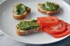 Oregano Pesto with almonds   Ingredients  1 cup of fresh oregano 1/2 cup of parmesan cheese 1 large garlic clove 1/2 cup of almonds 1/3 cup of olive oil salt and pepper