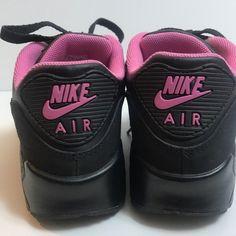 Air Max 90, Nike Air Max, Pink Nikes, Baby Shoes, Hats, Fashion, Moda, Hat, La Mode