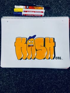 Throw up simple style by kash.ones Graffiti Styles, Simple Style, Sick, Photo And Video, Instagram, Art, Art Background, Kunst, Performing Arts
