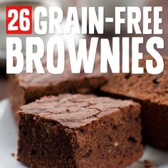 26 Chocolaty Brownies without Flour or Dairy