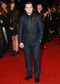 Liam Hemsworth, Sam Claflin + Josh Hutcherson Suit Up for The Hunger Games: Mockingjay Part 2 Premiere