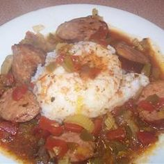 Colleen's Slow Cooker Jambalaya. http://allrecipes.com/recipe/colleens ...