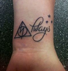 This is my favorite Harry Potter Tattoo  so far. :)