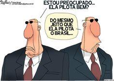 Dilma dribla seguranças e sai de moto por Brasília