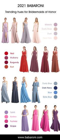 Bess is a beautiful chiffon gown. This dress has a bold sexy V neck which makes you look gorgeous. This unique sexy slit makes this dress look attractive and attempting. Come and visit babaroni.com, choose from 66+ colors & 500+ styles. #bridesmaiddresses#wedding#babaroni #weddingideas
